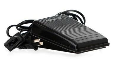 Sew-link Foot Control Pedal & Cord for Bernette, Singer, Riccar, Viking, White