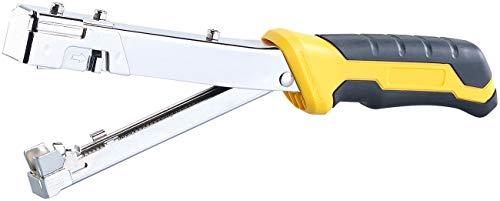 AGT Schlagtacker: Hammertacker mit Stahl-Gehäuse, für Heftklammern 10,6-11,3 mm Breite (Werkzeug-Tacker)