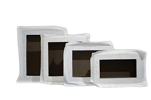 Wandnische, Duschregal, , einbaufertig, befliesbar aus XPS inkl. Vlies, Ablage für Shampoo und Deko (300 x 400 x 87 mm / M-größe)