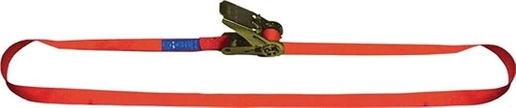 Dolezych sjorband DIN EN 12195-2 L.5m B.25 mm met ratel LC U 1000 daN (16251000-5)