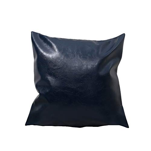 OPAKY Kunstleder Kissenbezüge Dekokissenbezug Sofa Home Decor Solid Color 45x45