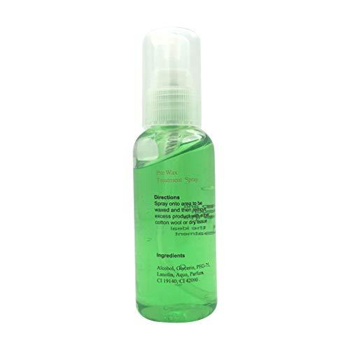 Liquido Detergente Per Depilazione Estratto Di Piante Cera D'Api 60 Ml Alopecia Ascella E Gamba