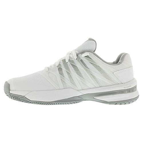 Product Image 5: K-Swiss Women's Ultrashot 2 Tennis Shoe (White/Highrise, 6)