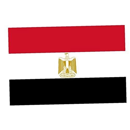 Ägypten Nationalflagge 3 * 5ft Außen Helle Farbige Banner, International World Country Flags, Party-Dekorationen Für Olympia, Sportvereine, Flagge Bunting