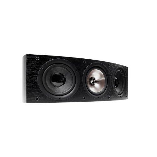 KEF IQ 60 C Esche schwarz 3-Wege-Center-Lautsprecher