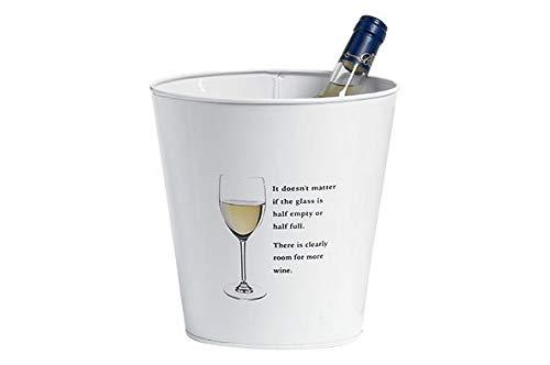 Cosy & Trendy Party Seau A Vin Blanc D21xh21cm (Lot de 4)