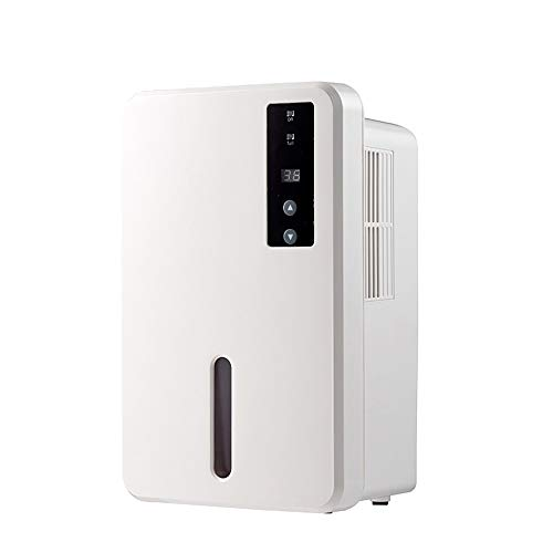 HBBOOI 1500ml Intelligente Haushalts Luftentfeuchter Luftentfeuchter mit Digital-Feuchtigkeits-Anzeige 24h Automatische Abschaltung Ultra-Quiet Luftreiniger