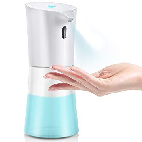 DreiWasser Desinfektionsspender 500ml, Automatischer Alkohol Zerstäuber Desinfektionsmittelspender mit Infrarotsensor für Non-Touch Händewaschen