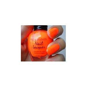 KLEANCOLOR Nail Lacquer - Neon Orange