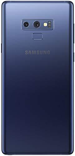 Samsung Galaxy Note 9 (SM-N960F/DS) 6GB / 128GB (Ocean Blue) 6.4-inches LTE Dual SIM (GSM ONLY, NO CDMA) Factory Unlocked - International Stock No Warranty