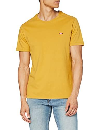 Levi's SS Original HM tee Camiseta, Amarillo frío, XXL para Hombre