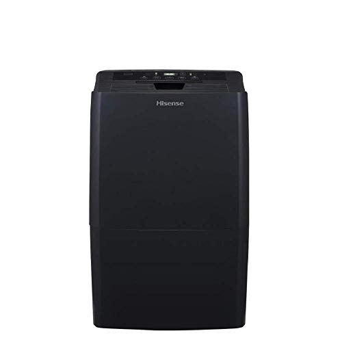 Hisense 70 Pint Dehumidifier DH-7019K1G Low Temp Operations & Energy Star Rated Great for Basements and has Quiet Operation (Renewed)