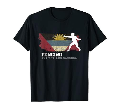 Antigua y Barbuda Esgrima Esgrima Espada Esgrima Camiseta