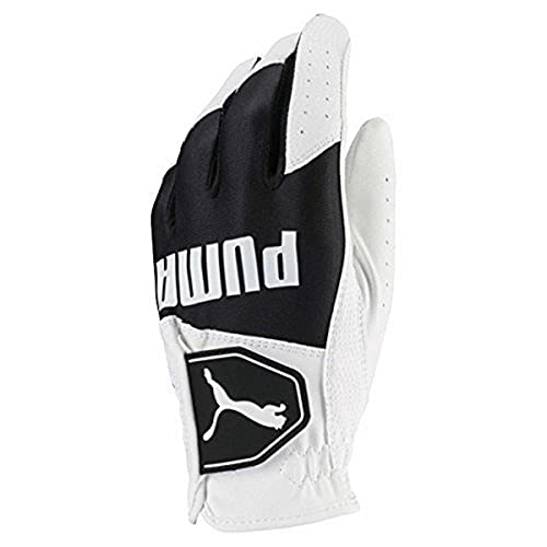 Puma Golf 2018 Kid's Golf Glove (Bright White-Puma Black, Large)