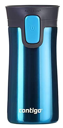 Contigo Thermobecher Pinnacle Snapseal, Edelstahl Isolierbecher, Kaffebecher to go, auslaufsicher, spülmaschinenfester Deckel BPA-frei, 300 ml