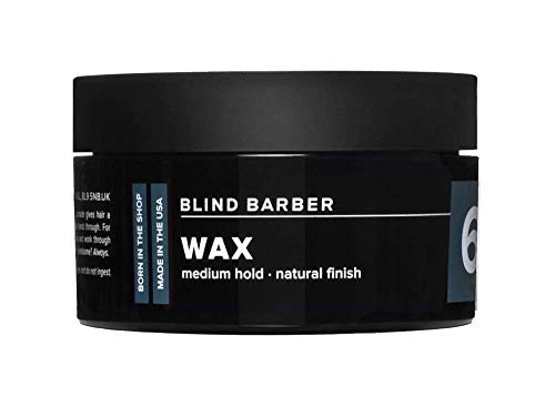 Blind Barber 60 Proof Cire coiffante professionnelle Tenue moyenne Finition naturelle 70 g