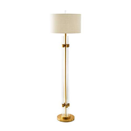 EIU Postmodern Crystal Stick Vloerlamp Nordic Eenvoudige Model Huis Villa Slaapkamer Slaapbank Verticaal W1/6