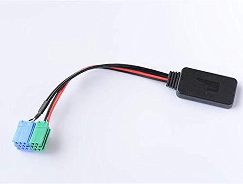 Shine Auto Bluetooth Adapter für Mercedes Benz Porsche mit Becker Radio, Wireless Car CD Stereo AUX Musik Interface für Porsche Mercedes Benz 1994-2002