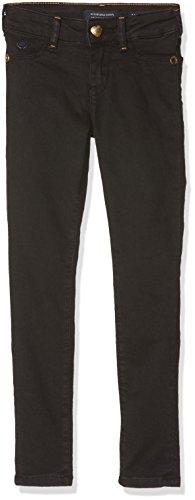 Scotch & Soda R´Belle Scotch & Soda R´Belle Mädchen NOS-La Milou Jeans, Schwarz (Clean Black 1482), 110 (Herstellergröße: 5)