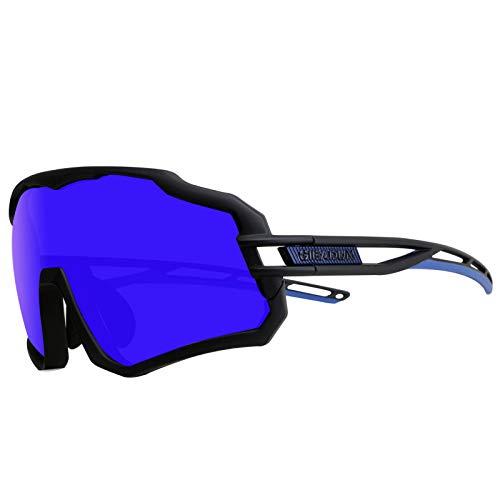GIEADUN Gafas De Sol Polarizadas para Ciclismo con 3 Lentes