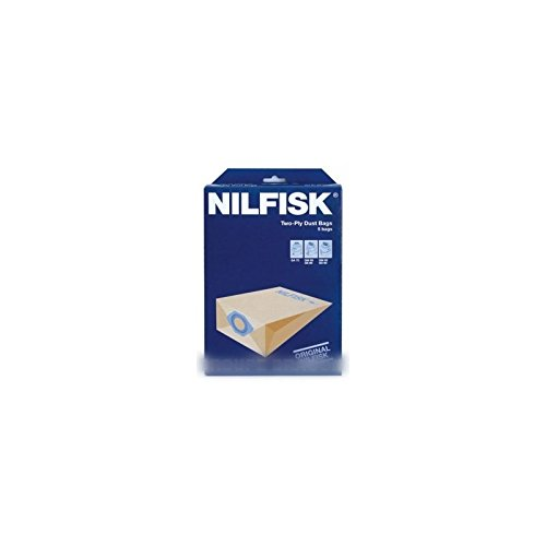 NILFISK ADVANCE, Sacs pour aspirateur GM80, Lot de 5