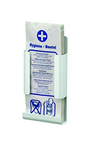 All Care 8270 MediQo-line Porte-sac hygiénique en aluminium Blanc