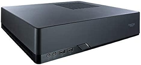 Fractal Design Node 202 Black Mini-ITX Slim Profile Compact Small Form Factor Computer Case with PCIE 3.0 Riser Card