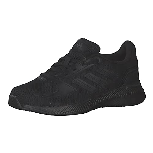 adidas Runfalcon 2.0, Road Running Shoe, Core Black/Core Black/Grey, 35 EU