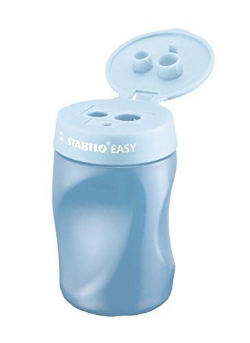 Ergonomischer Dosen-Spitzer für Rechtshänder - STABILO EASYsharpener - 3 in 1 - blau