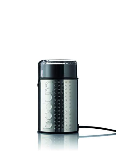 Bodum 11160-16EURO-4PL BISTRO Elektrische Kaffeemühle, 150 W, Edelstahl, Glänzend