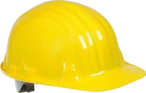 Hein Industrieschilder 150498 X 150498 X Schutzhelm gelb EN 397, mit 1000 V-Stempel für Elektriker