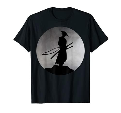 Japanese Samurai Bushido Ronin Warrior Katana Sword Japan T-Shirt
