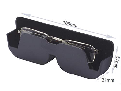 Sunstop gepolsterte, Selbstklebende Brillenablage 165mm x 57mm x 31mm - mit Polsterung: Weicher Filzstoff