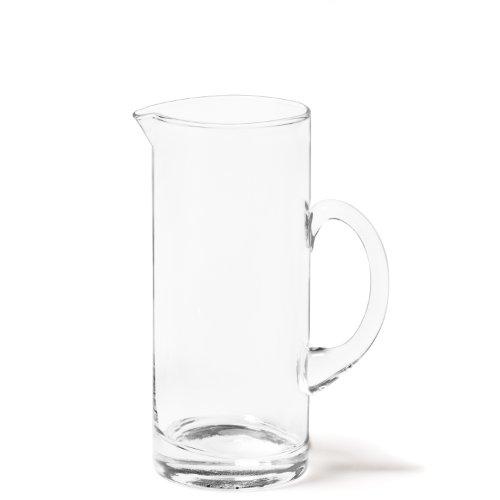 Leonardo Ciao V.I.P. Krug, handgefertigter Glas-Krug, spülmaschinengeeignete Wasser-Karaffe mit Henkel, 1040 ml, 067532