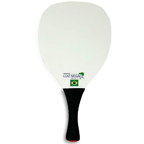 One Luiz Negao Grega Frescobol Paddle in Ivory.