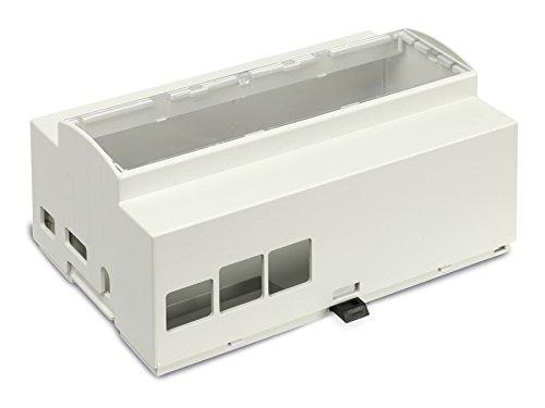 Pollin-Choice Hutschienen-Gehäuse für Raspberry Pi Model B+, 8TE