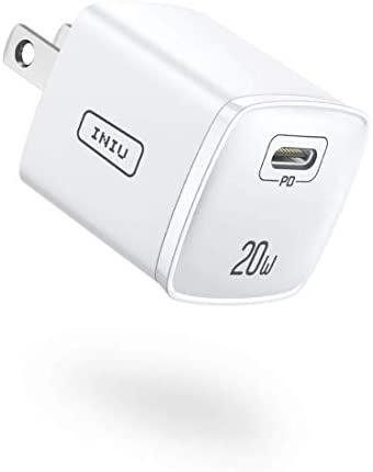 INIU USB C Charger Smallest 20W PD 3 0 Fast Charger Universal Wall Charger Block Power Adapter product image