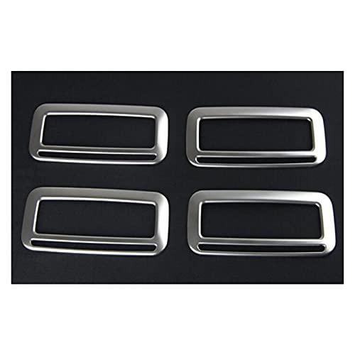 WLDZGGD 4X Auto Tetto Aria Condizionatore Uscita Vent Frame Trim Cover Sticker per V&W per Sharan 2013-2016 Trim Sticker