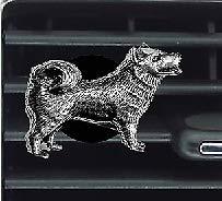 Kit de ambientador de perro Husky D16 para decoración de coche, furgoneta, camión, mini autobús