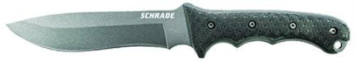 Schrade SCHF9NCP Extreme Survival Large Fixed 8Cr13Mov High Carbon Stainless Steel Blade & Black TPE Handle & Sheath, Clam Packaging by Schrade
