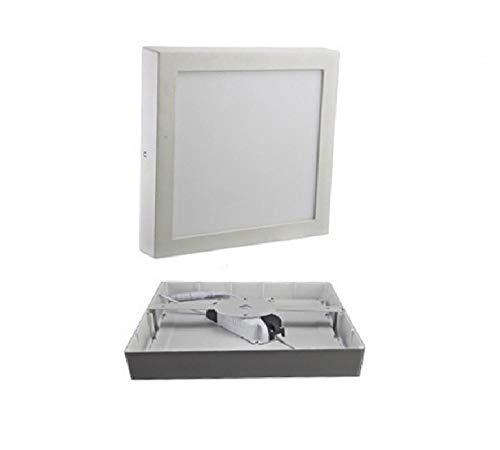 9W 15W 25W Panel de luz LED cuadrado montado en la superficie Luz de techo empotrada LED 85-265V tira de LED-Cold_white_9W