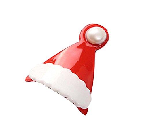5 pièces Noël Dessin animé Pinces à cheveux Mignon Pinces à cheveux, 3.5*3 cm