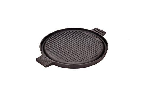 Grillplatte Rund 30cm OCI-BPR-D BBQ Plate Round 30cm Gusseisengrillplatte massiv, rund, Kochplatte