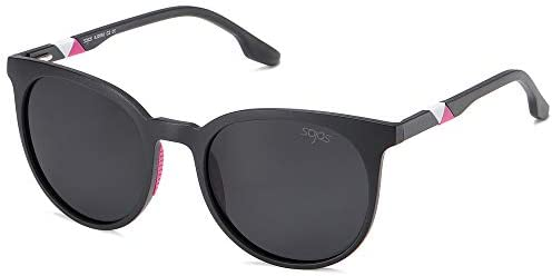 SOJOS UV400 Polarized Sports Sunglasses for Women Ultralight TR90 Frame SJ2092 with Matte Black product image