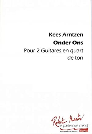 Onder Ons pour 2 Guitares Micro-Tonale