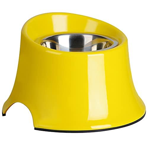 SuperDesign Hundenapf Hoch, Fressnapf Erhöht für Hund, Erhöhter Napf rutschfest Futternapf Anti-Spill für Klein Mittel Große Hunde