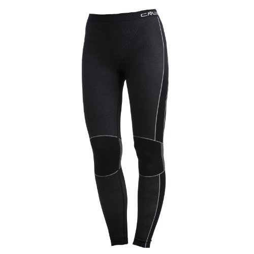 CMP Pantaloni termici 3Y96809 Pantaloni, Donna, Nero, 42/44, Nero, 42/44