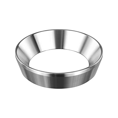 58mm Espresso Dosing Funnel, MATOW Stainless Steel Coffee Dosing Ring Compatible with 58mm Portafilter (58mm)