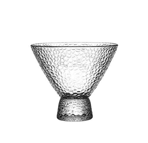 NAXIAOTIAO Juice Glass, Transparent Glass Ice Cream Cup, Pudding Cup, Golden Rim Dessert Cup, Drink Cup, Yogurt Cup 4-Piece Set,C