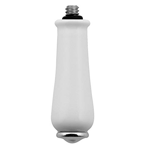MOEN 97466 Porcelain/chrome replacement handle knob insert